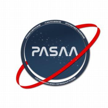 Logo Podkarpackiego Stowarzyszenia Astronomiczno Astronautycznego