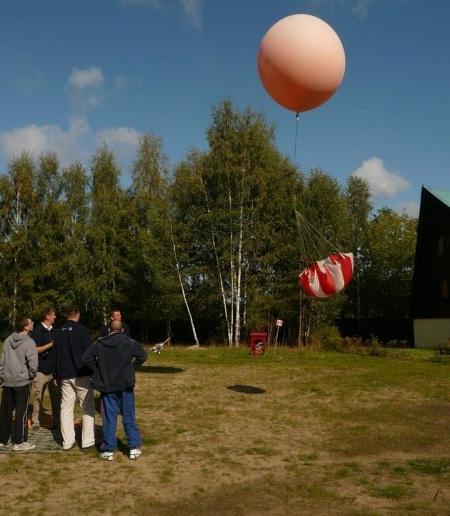 Start balonu CP-15 (Credits: Copernicus-Project)