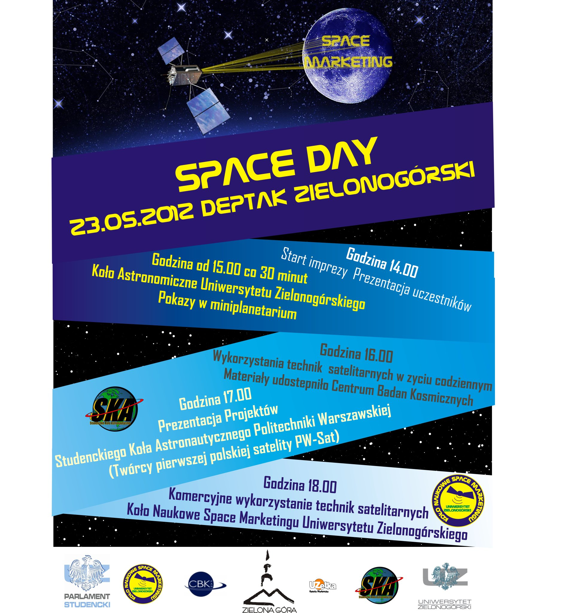 Space Day na zielonogórskim deptaku