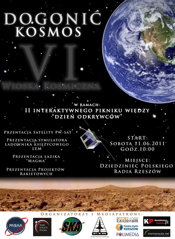 Plakat informacyjny (Credits: www.dogonickosmos.pl)