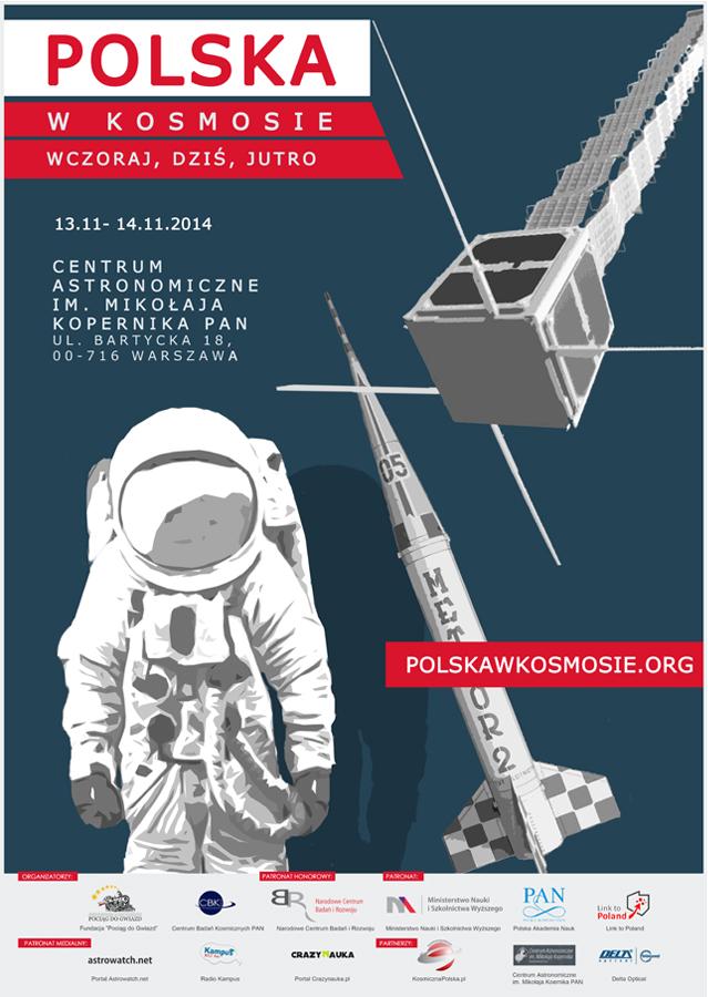 Plakat wydarzenia (Credits: Fundacja Pociąg do Gwiazd)