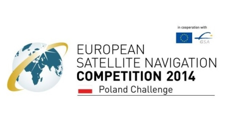 Logo European Satellite Navigation Competition 2014